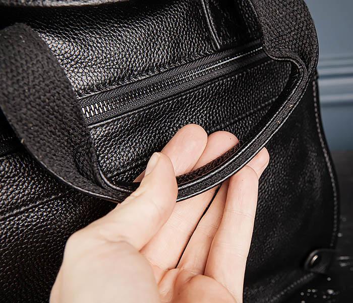 BAG513-1 Стильная мужская сумка из натуральной кожи фото 07