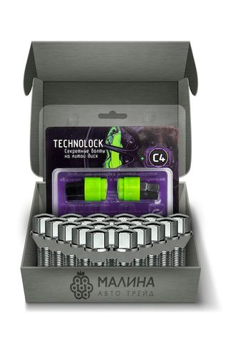 Готовый набор из колёсных болтов М14x1.5 и комплекта секреткок TECHNOLOCK C4