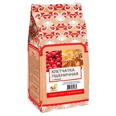 Клетчатка пшеничная, Дивинка, Клюква, бумажный пакет, 300 г.