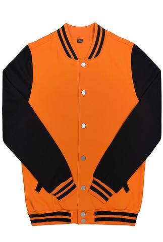 Бомбер оранжевый фото спереди