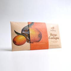 Шоколад темный Вкус Сибири с облепихой Сибирский Кедр 100 г