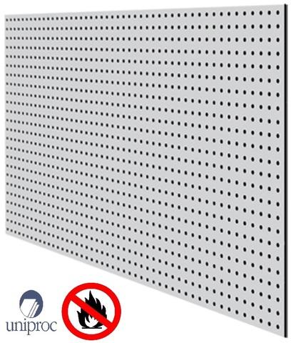 негорючая  перфорированная потолочная плита UNIPROC 1220x2440