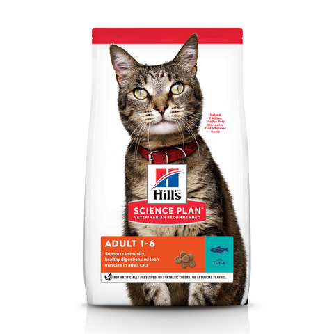 Hill's Science Plan Feline Adult Optimal Care with Tuna