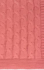 Элитный плед-покрывало Imperio 22 коралловый от Luxberry