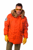 Куртка Аляска зимняя - Polar Jacket (красная - red)