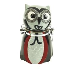 Банка для сыпучих продуктов Boston Warehouse All Owl's Eve