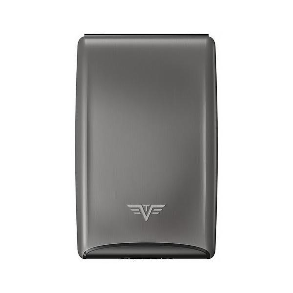 Визитница c защитой Tru Virtu RAZOR, цвет темно-серый , 104*68*20 мм