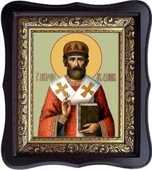 Филипп II Московский и всея Руси (Колычев), Святитель, митрополит. Икона на холсте.