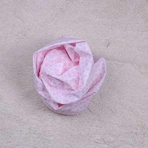 Простынка детская на резинке Принт (розовая)