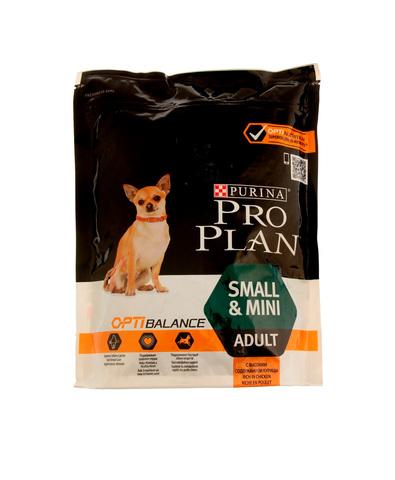 Pro Plan сухой корм для собак мелк/карл пород (курица, рис) 700 г