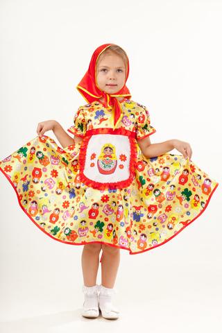 1003  Карнавальный костюм Матрешка