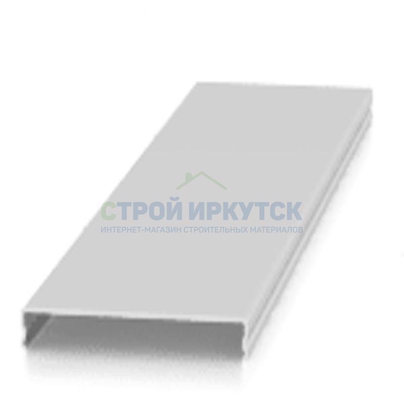 Реечные потолки Рейка AN85A  RUS 22 белая матовая 4м dfc267d6bf4fd9fbd82c0c8389bab37b