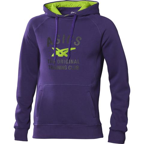 Толстовка Asics Graphic Hoody мужская фиолетовая