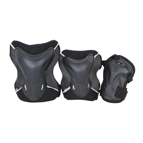 защита Tempish JOLLY 3-set (knee+elbow+wrists) Чёрный