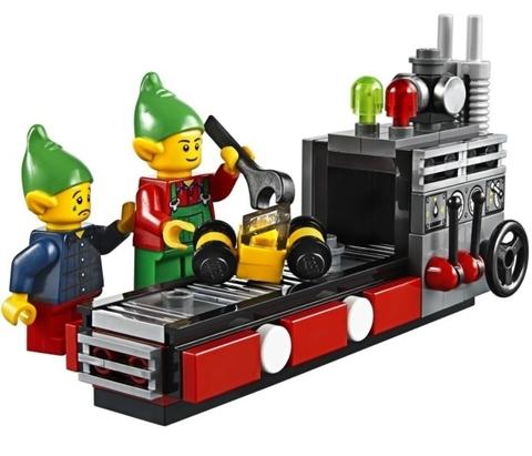 LEGO Creator: Мастерская Санта-Клауса 10245