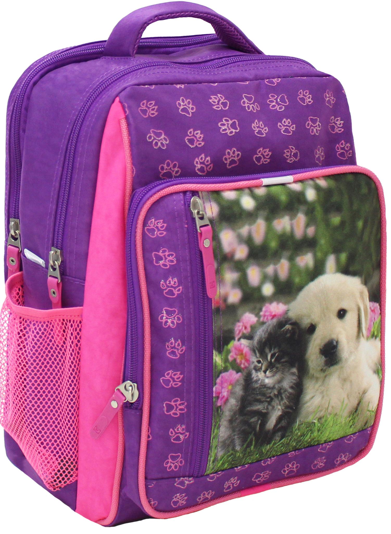 Школьные рюкзаки Рюкзак школьный Bagland Школьник 8 л. Фиолетовый 138д (00112702) IMG_5088.JPG