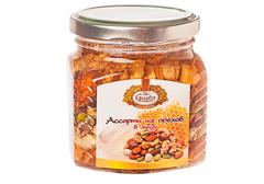 Ассорти из орехов в меду, 300г