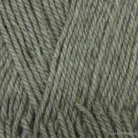 Пряжа Носочная (Пехорка) 371 Натуральный серый, фото