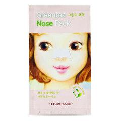 Etude House Greentea Nose Pack AD - Патч очищающий для носа