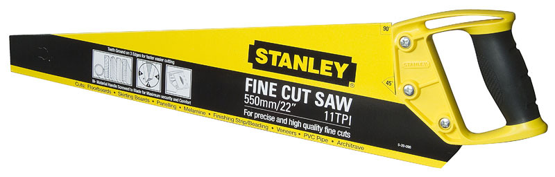 Ножовка по дереву  550мм OPP Stanley 1-20-096
