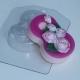 8 Марта/ Розы по диагонали   Форма для мыла