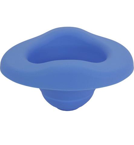 Складная силиконовая вставка для горшка Potette plus голубая