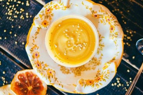 Мёд натуральный с цветочной пыльцой 350 гр