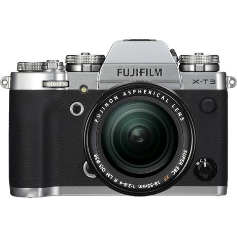 Fujifilm X-T3 Kit XF 18-55mm F2.8-4 R LM OIS Silver