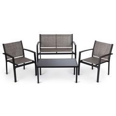 Комплект мебели кофейный из текстилена Patio Textilene