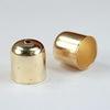 Концевик для шнура 9,5 мм, 11х10 мм (цвет - золото), 10 штук