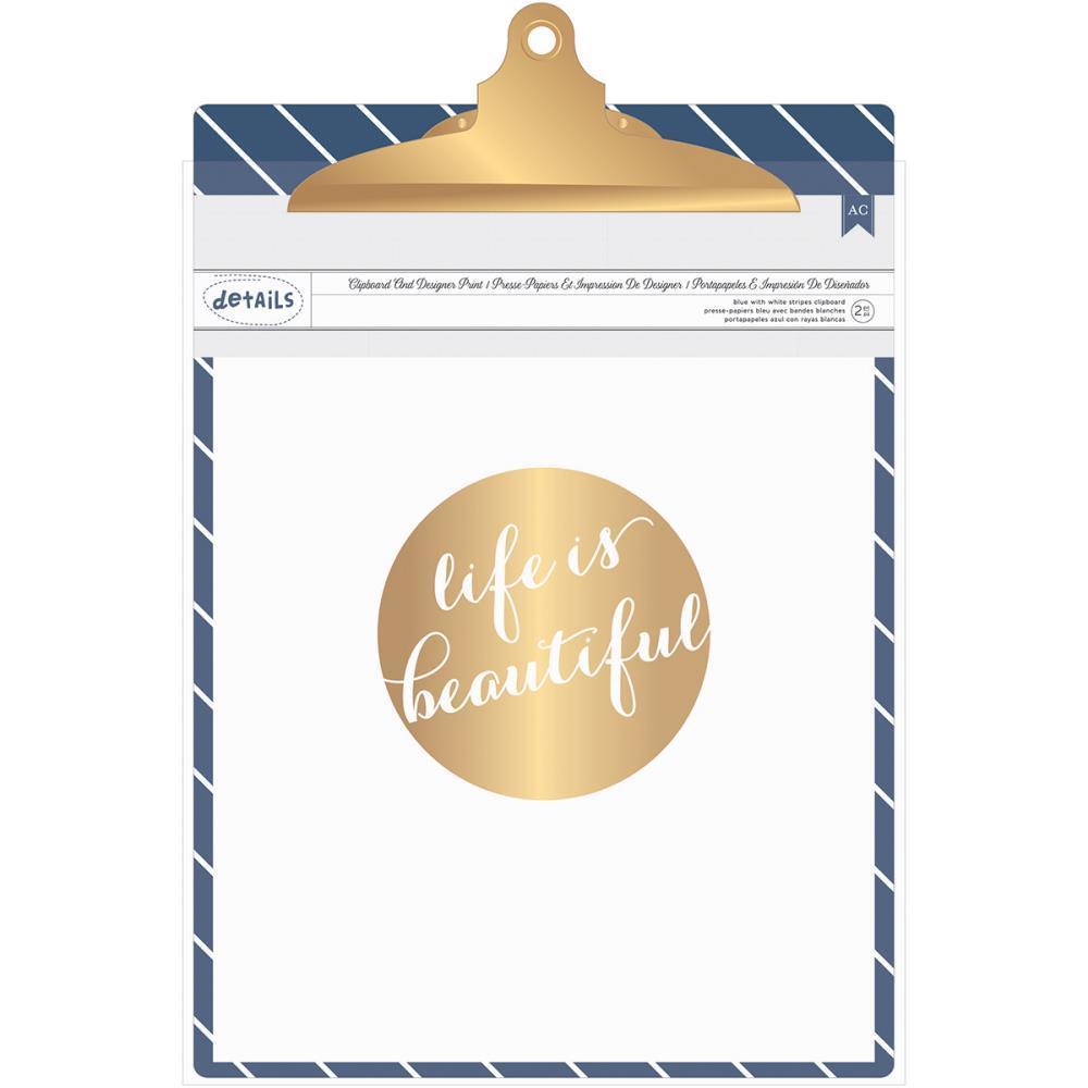 Планшет для бумаги с зажимом Designer Desktop Essentials Clipboard