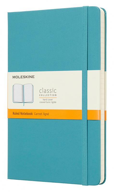 Блокнот Moleskine Classic Large, light blue