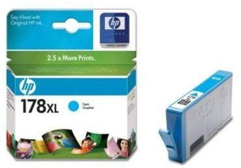 Картридж HP CB323HE (№178XL) Cyan inkjet CIS