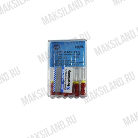 Римеры, дрильборы ручные, ISO 25, 25 мм (6 шт) MANI