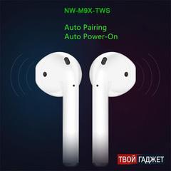 Беспроводные наушники NW-M9X-TWS сенсорные