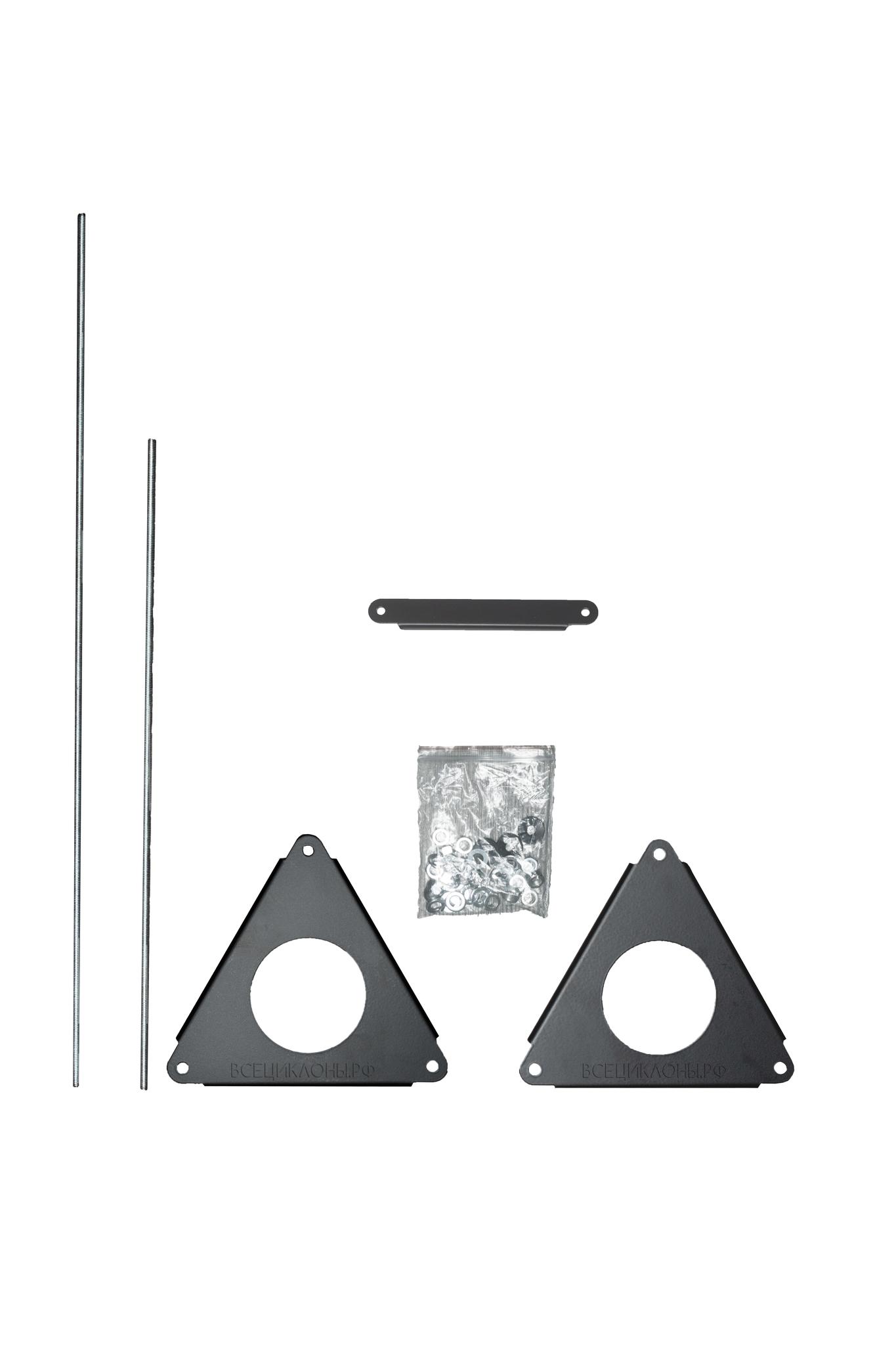 Комплектующие Скелетный крепёж для циклона М-3, крышка и циклонный фильтр продаются отдельно