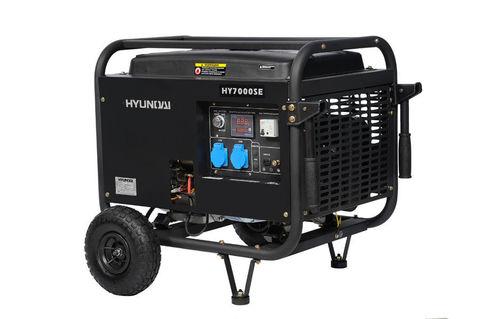 Бензиновый генератор HYUNDAI HY 7000SE
