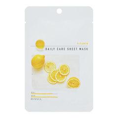 Eunyul Vitamin Daily Care Sheet Mask - Тканевая маска для лица с витаминами