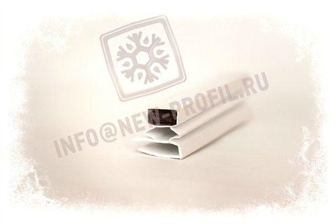 Уплотнитель 1625*650мм для холодильного шкафа Бирюса 460H-1 стекло. Профиль 013