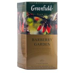 """Чай чёрный """"Greenfield"""" Barberry Garden 25 пакетиков по 1,5г"""