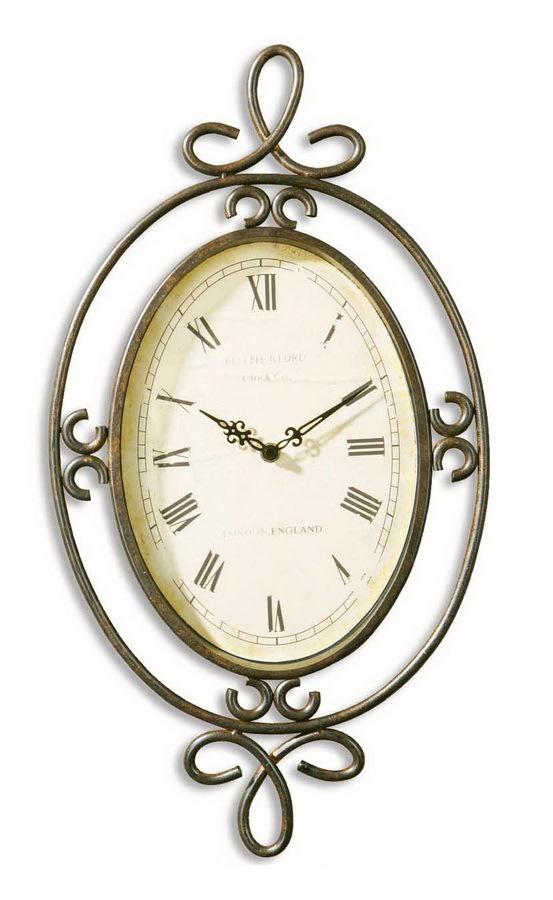 Часы настенные Uttermost 06722 Hamlin