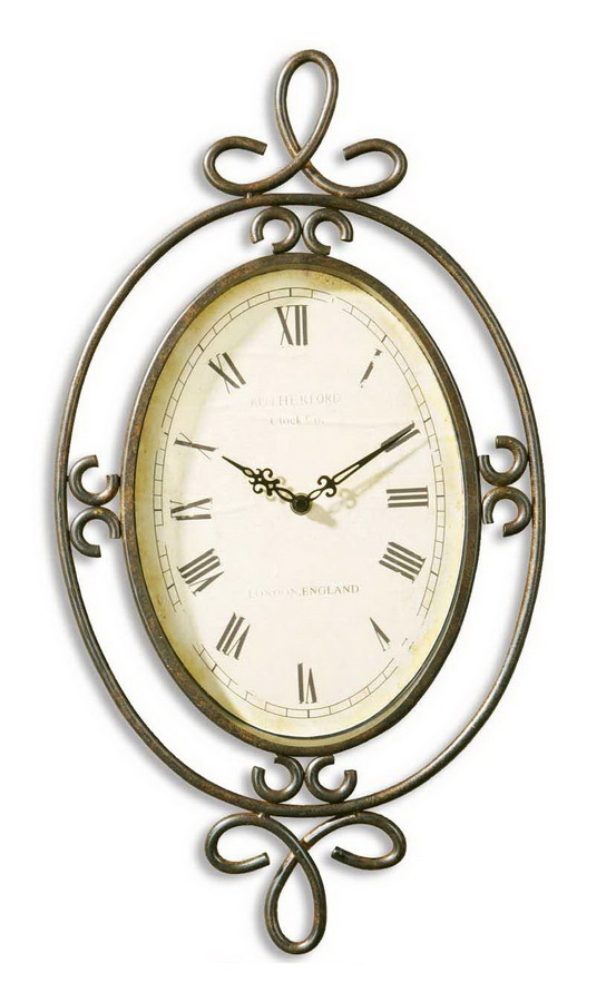 Часы настенные Часы настенные Uttermost 06722 Hamlin chasy-nastennye-uttermost-06722-ssha.jpg