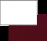 Фасад Белый глянец/Бордовый глянец 2 категория