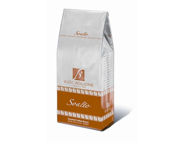Кофе в зернах Buscaglione Soalto, 1 кг (Бускальоне)
