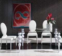 Обеденный стол DUPEN (Дюпен) 0767 белый