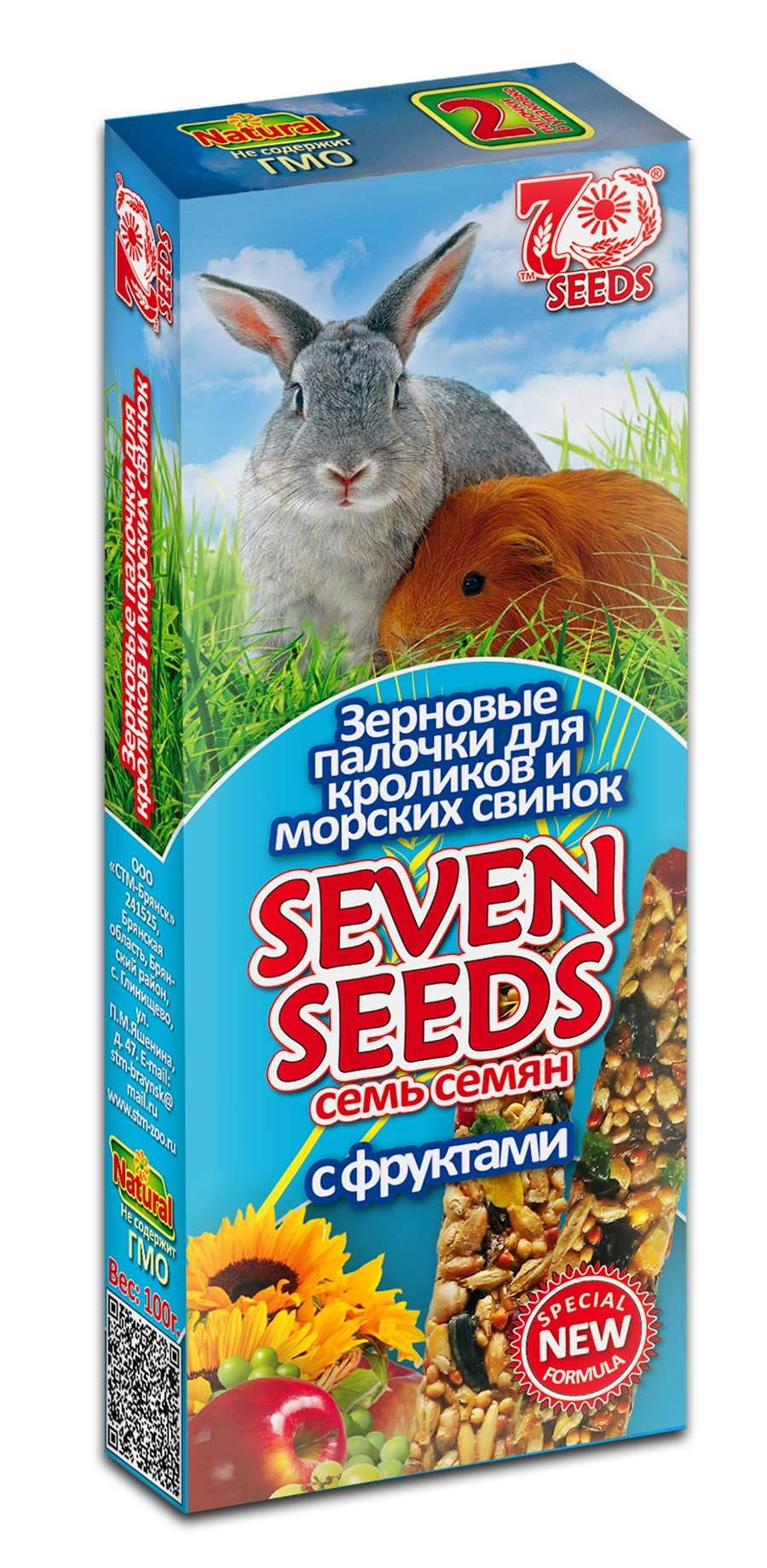 Новинки Палочки для кроликов и морских свинок с фруктами Seven Seeds Special 17.jpg
