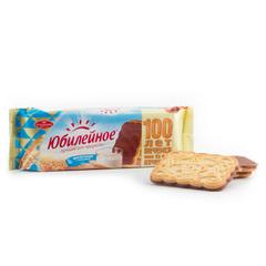 """Печенье """"Юбилейное"""" молочное с глазурью, 116 г"""