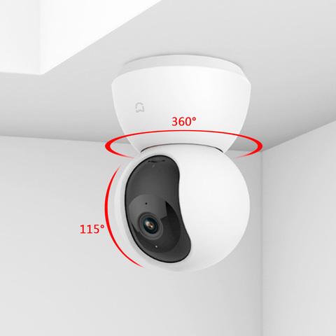 Xiaomi MiJia 360° Home Camera 1080p IP-камера видеонаблюдения RU EAC