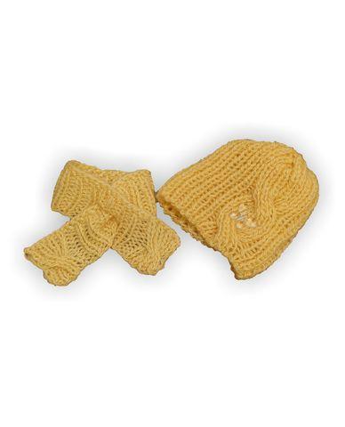 Шапка и шарф - Кремовый. Одежда для кукол, пупсов и мягких игрушек.