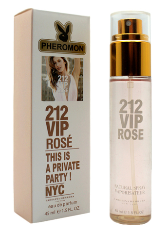 Парфюм с феромонами Carolina Herrera 212 Vip Rose 45ml (ж)